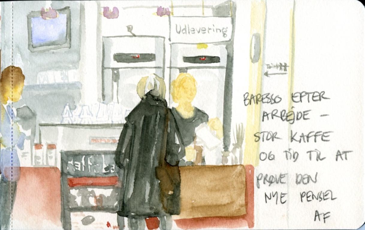 Kaffebar, detail