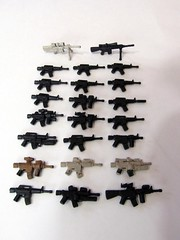 M4/M16's galore (ShkAdAw) Tags: m4 m4a1 sr25 m16a4 brickarms