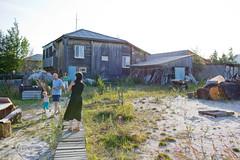 "Vera's and Kolj'as family house in ""Khanty national village"" (near Ljantor) (Tuamo) Tags: reindeer russia siberia mansi khanty hanti uralic ugric"