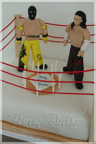 SmackDown Cake1