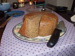 Rice cooker zucchini bread...delicious!
