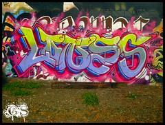 Lones (the graveyard shift) Tags: graffiti bay east ase tfn