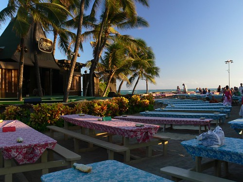 Luau Seating & Stage