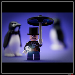 LEGO Penguin (ErnestoCarrillo70) Tags: penguin lego batman diorama moc