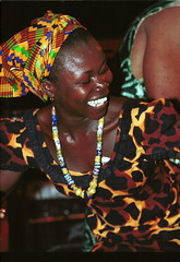 Mac Tontoh Project from Ghana at the Africa Centre London July 2001 019 with Vida Abena Owusua (photographer695) Tags: world africa from 2001 abena music london mac african centre band july jazz ghana vida warriors ashanti kete trumpeter amanas osibisa tontoh owusua nanaeba exosibisa