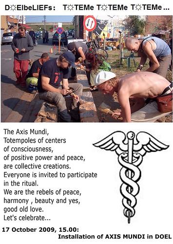 Installation AXIS MUNDI in D☼EL