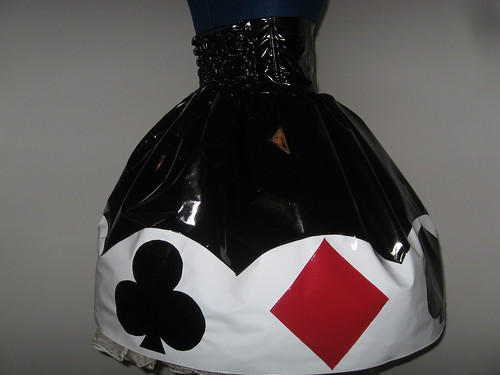 Vinyl Trump Applique Skirt 013
