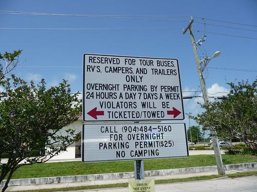 free rv parking.