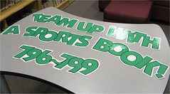 Team Up with a Sports Book! (Enokson) Tags: school signs sports sign basketball sport reading book football boards team comic edmonton baseball display library libraries board cartoon decoration books retro read displays signage rabbits schools bulletinboard bulletin middleschool nonfiction cartooncharacter librarybooks juniorhigh looneytunes deweydecimal bulletinboards cartooncharacters 799 librarybook librarydisplays bookdisplay 796 middleschools juniorhighschools schooldisplays vblibrary enokson librarydecoration teamupwithasportsbook 796799