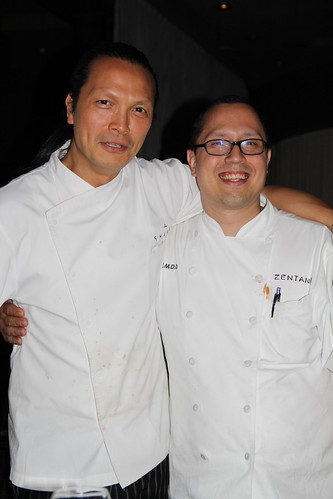 Chefs Susur Lee and Jaime Montes de Oca, Jr.