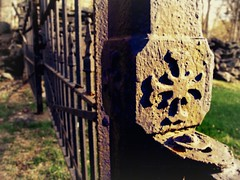 Welcome.... (AutumnSunOriginals) Tags: hff fencefriday