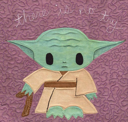 Yoda quiltlet