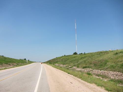 A Kansas hill