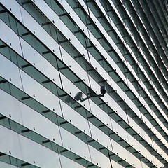 Someone to watch over you (Vibeke Sonntag) Tags: camera building modern facade copenhagen architechture dr watching restad