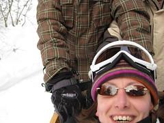 Saas Fee (craig.stanford) Tags: dog snow switzerland mush sled huskie saasfee