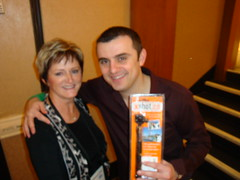 Gary Vaynerchuck Receives his XShot