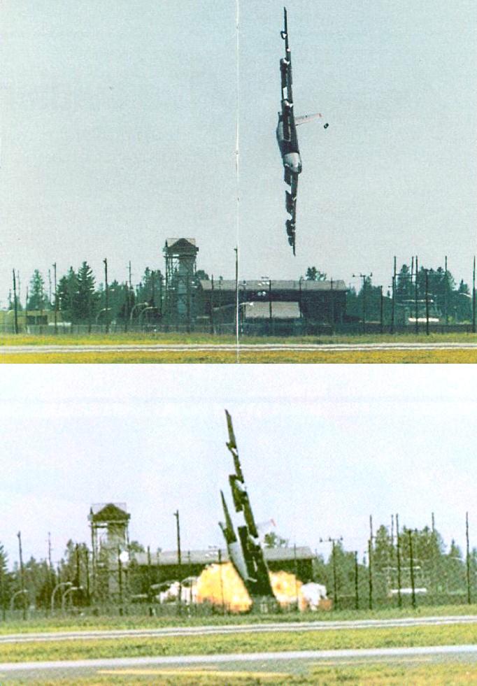 B-52 Stratofortress - Queda da Águia