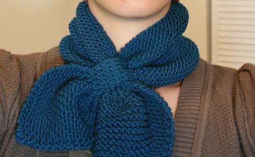 Ravelry: Knitted Neck Scarf pattern by Martha Stewart ...