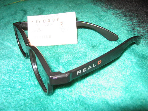 Real D 3-D Glasses