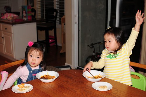 Woohoo, we love daddy's chili!