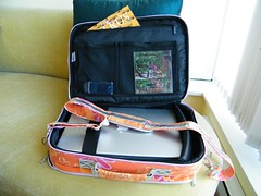 Gnana Laptop Case - Interior (with shoulder strap)