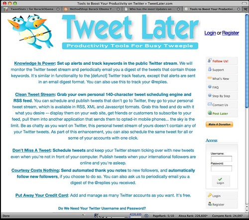 How to Auto Follow People on Twitter - Tutorial 1