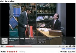 Monty Python publicidad youtube