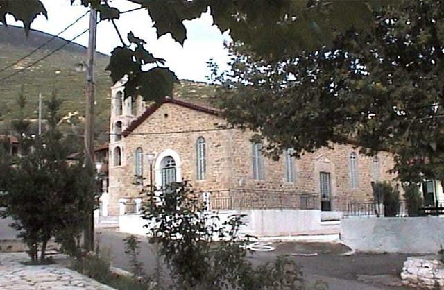 Πελοπόννησος - Αρκαδία - Δήμος Λ εβιδίου Εκκλησία της Παναγίας του χωριού Παλαιόπυργος