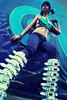 (NatVon Photography) Tags: sanfrancisco city girl shirt female leaf model mare angle dancer teen rave gogo brunette marijuana nikond80