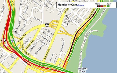Colors of Traffic in Google Maps