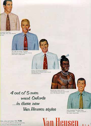 4 out of 5 men want Oxfords (1952)