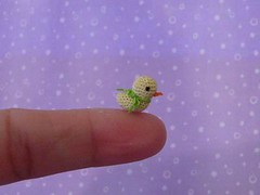 Amaretto (MUFFA Miniatures) Tags: cute miniature duck funny doll crochet dollhouse yellowduck muffa cdhm threadanimals threadminiature