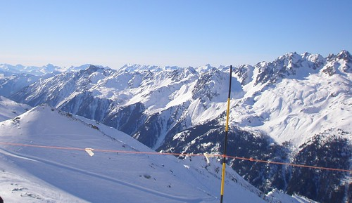 View from Les Grands Montets
