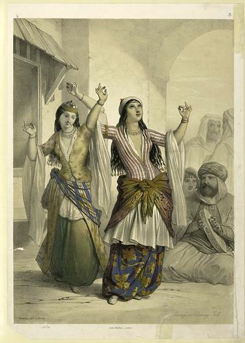 Ghawazi o bailarinas 1851