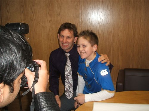 Brandon and Tony Adams