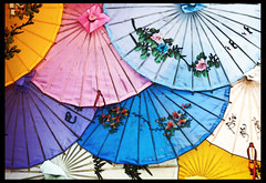 Umbrellas (Jeff_B.) Tags: china umbrella epcot chinese disney disneyworld pavilion epcotcenter waltdisney worldshowcase futureworld mywinners colorphotoaward aplusphoto colourartaward