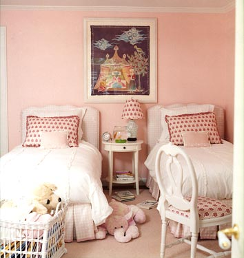 Pink Kids' Bedroom