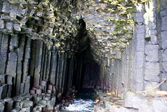 At the End of Fingal's Cave (little_frank) Tags: ocean uk greatbritain sea wild cliff black nature water beautiful beauty rock wonderful dark giant wonder coast scotland amazing fantastic scenery europe view place innerhebrides natural unitedkingdom north columns dream dramatic wave atlantic special erosion formation fantasy foam stunning mysterious nordic column geology wilderness fabulous marvel northern pure volcanic mythology soe gigante breathtaking impressive eruption basalt grotta isola staffa fingalscave breathless caverna unspoiled irreal scozia ebridi primordial columnar naturesfinest geologic columnarbasalt basaltic mywinners abigfave ultimateshot