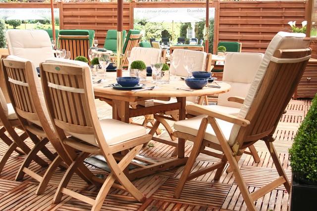 Zahradní dřevěný nábytek – Meranti