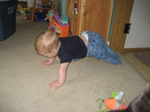Almost crawling