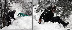 Having big fun (.Agnes) Tags: vacation snow fun tirol mychildren