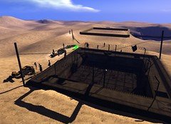 The Wastelands in Second Life (with experimental shadows)