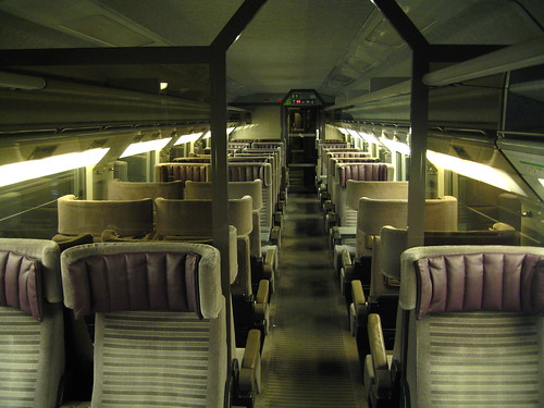 Train Chartering - private First Class carriage on Eurostar