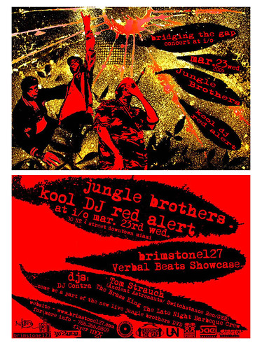 Jungle Brothers Flyer