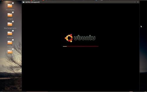 Nouvel écran de démarrage pour Ubuntu Linux Jaunty Jackalope