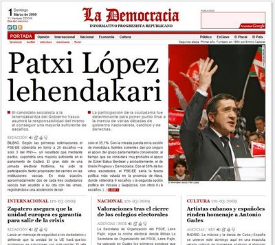 Lopez lehendakari por ti.
