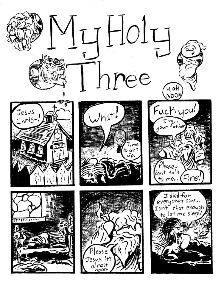 My Holy Three #2 page1/2