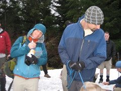 dicey and Josh on Poo Poo Point