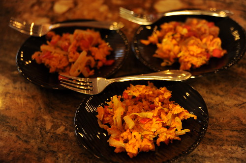 Caribbean Sweet Potato Hash Browns