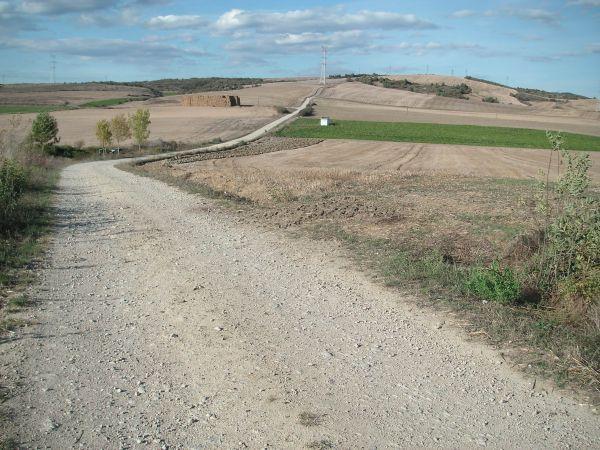 Foto 7 - Pista de bajada por el GR-38